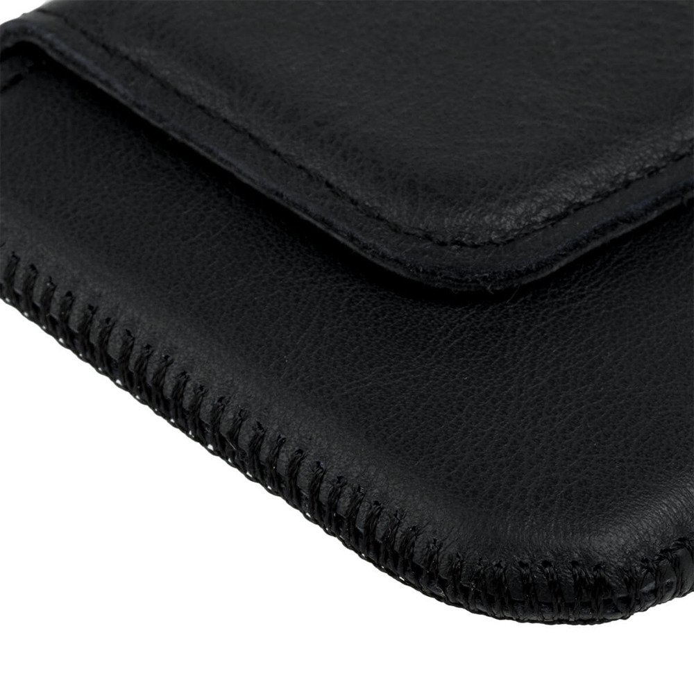 Surazo® Leather Belt Pouch case - Dakota Black - Deer