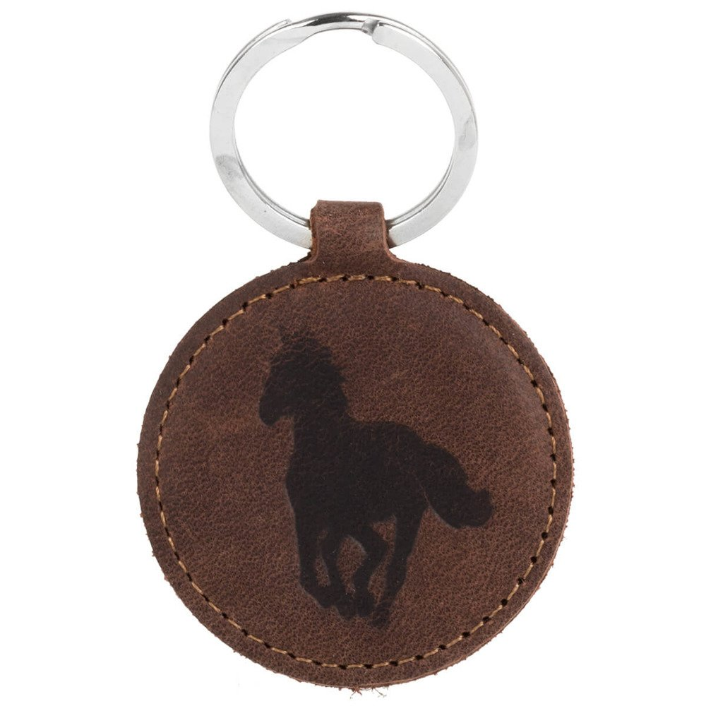 Surazo® Leather Wallet phone case - Nut Brown - Galloping Horse
