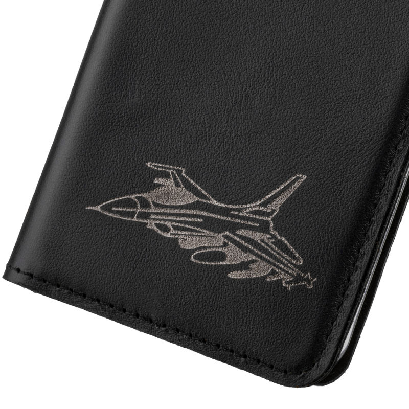Surazo® Smart Magnet RFID case Costa - Black - Jet