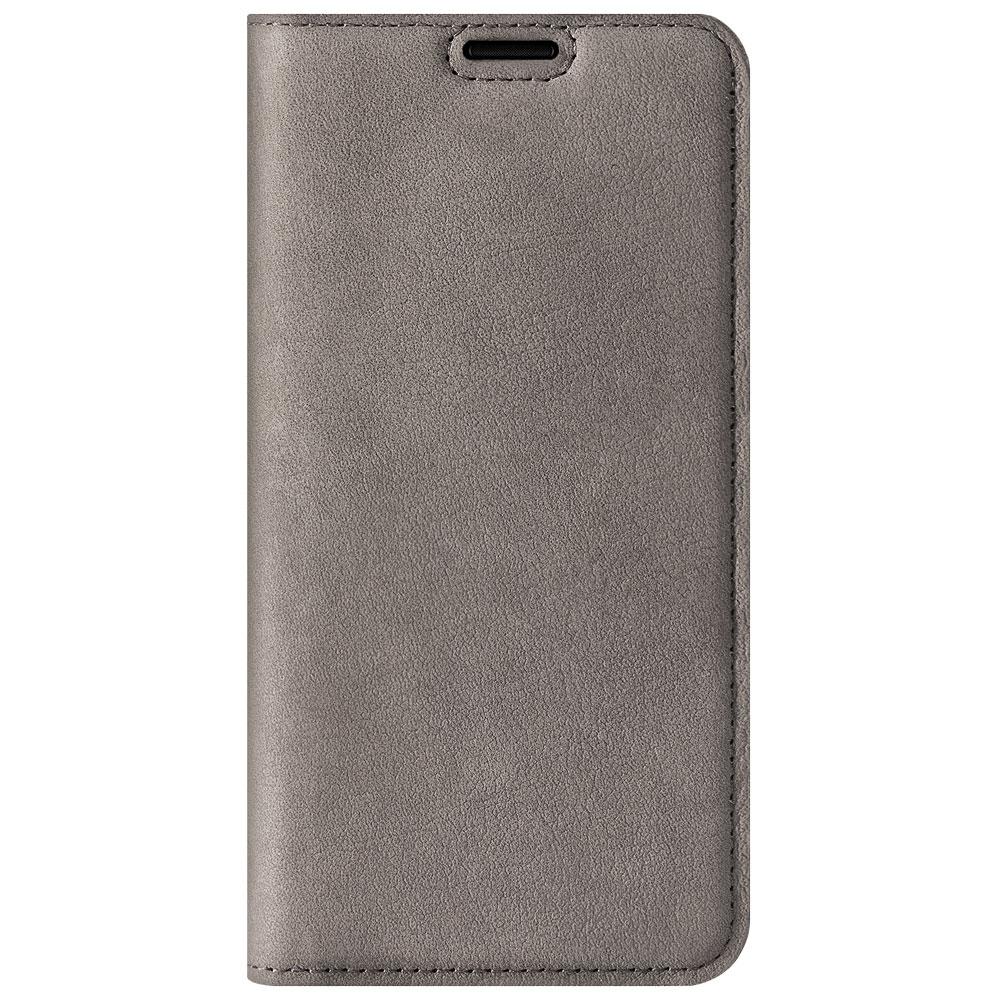 Surazo® Smart Magnet RFID Lederhülle Nubuk - Grau