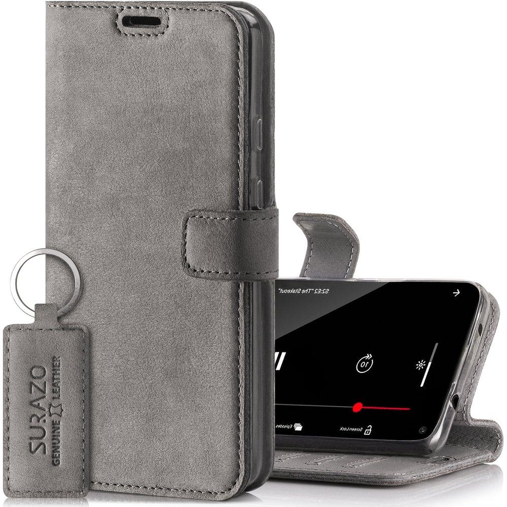 Wallet case - Nubuk Szary